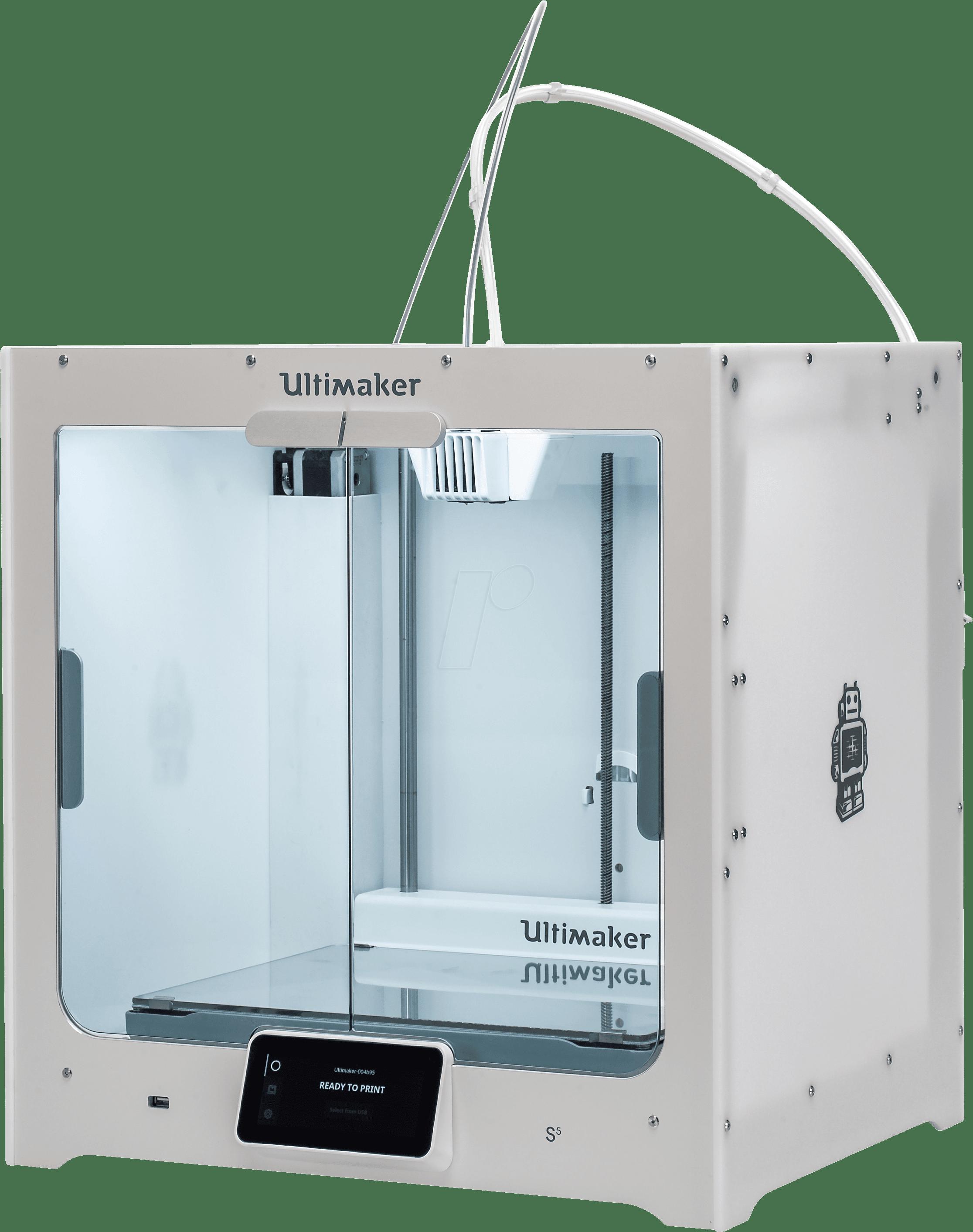 Ultimaker S5 3D printer, een voorbeeld van een veel gebruikte FDM 3D printer waarmee verschillende 3D prints gemaakt kunnen worden.